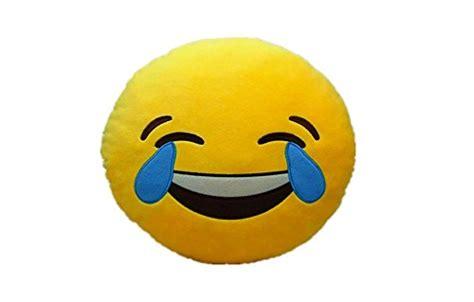 Rz3 Pajamas Emoji Yellow Pp laugh to tear emoji pillow smiley emoticon yellow cushion stuffed plush soft