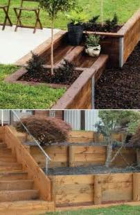 diy garden wall 25 best ideas about small retaining wall on