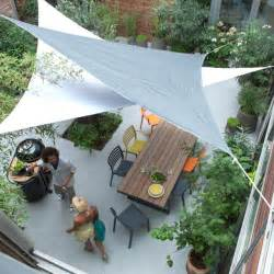 voile d ombrage triangle blanc 360 cm castorama