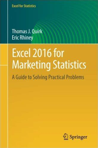 excel 2016 for marketing statistics pdf free it ebooks