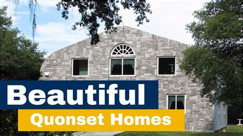 Show Homes Interiors by Amazing Quonset Hut Homes From Steelmaster Customers Youtube