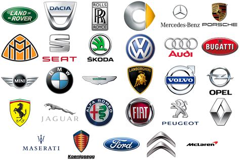 list   european car brands european car manufacturers
