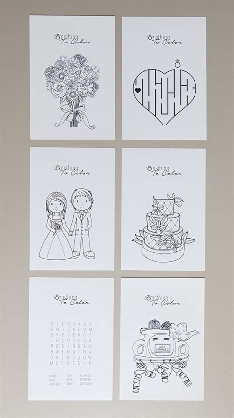 single photo page diy print these free coloring pages for the kids at your wedding