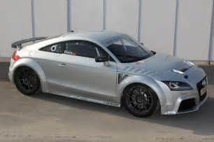 Audi Dt Audi Tt Gt4 Unveiled In Shanghai The Torque Report