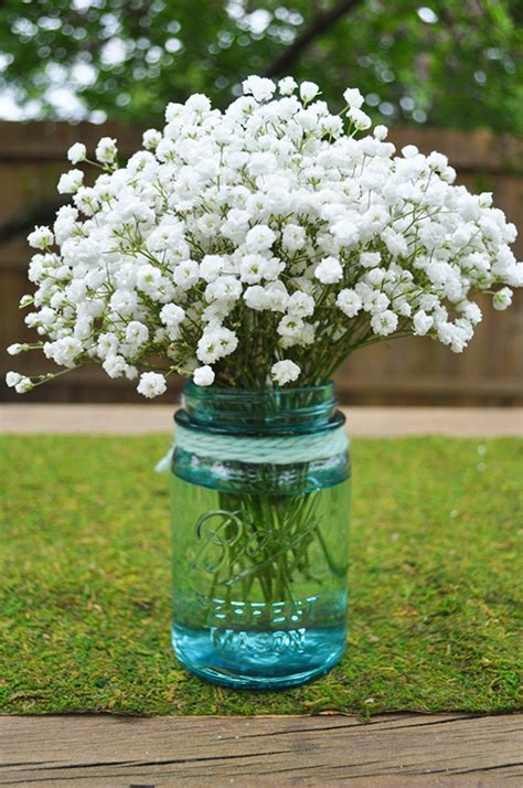 Baby Shower Gifts Diy by Do It Yourself Babys Breath Arrangement