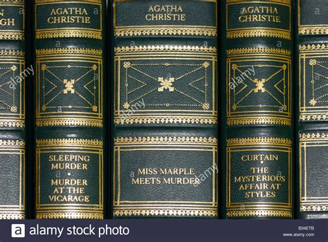 the story of leather books book spines of leather bound books agatha christie