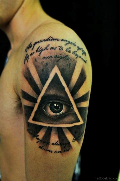 tattoo eye bags 60 superb eye tattoos for shoulder