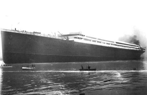 titanic boat launch hmhs britannic 1914 february 26 1914 britannic fully