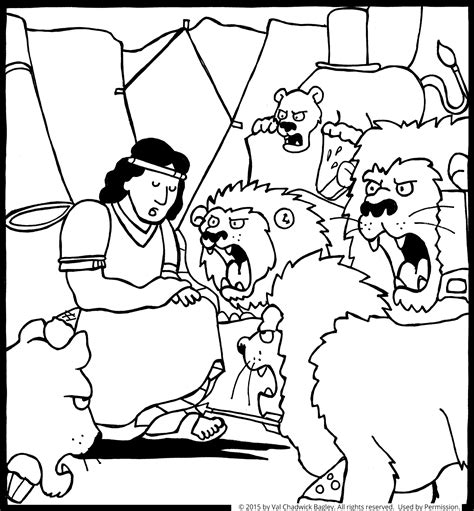 daniel and the lions den coloring page daniel in the s den