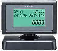 Customer Display Casio Qt 6060d qt 6600 point of sale casio usa