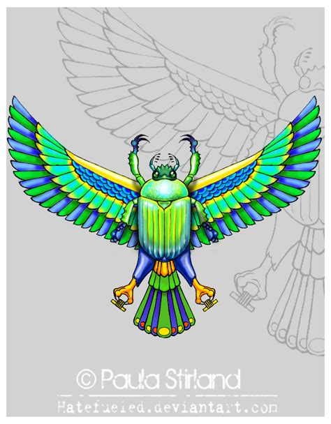 egyptian scarab by hatefueled on deviantart