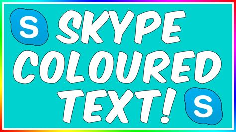 skype color how to write in colour on skype 2015