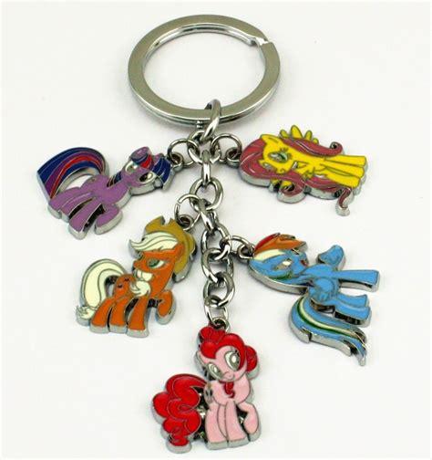 Ke 100 Keychain My Pony my pony friendship is magic keychain keyring metal