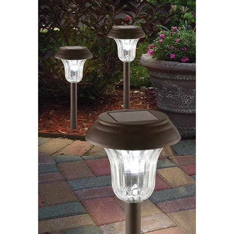 10 Pc Westinghouse 174 3x Bright Solar Light Set 164827 Westinghouse Solar Landscape Lighting