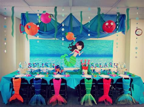 mermaid themed decorations 1000 images about b day ideas on hello