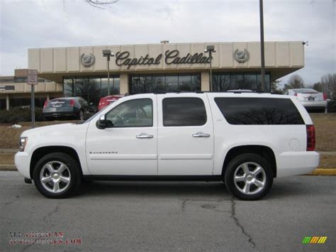 chevrolet suburban 2007 2007 chevrolet suburban 1500 ltz 4x4 in summit white