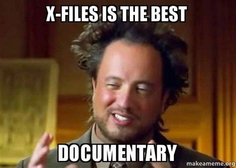 X Files Meme - 20 funny x files memes only true fans will understand