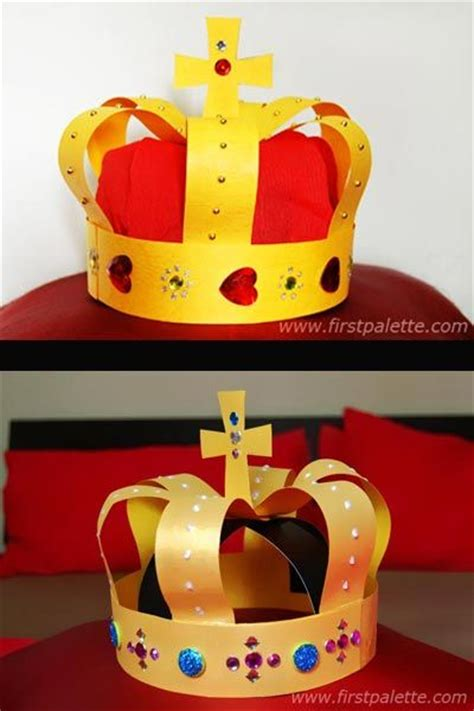 How To Make A Crown Out Of Construction Paper - best 25 crown crafts ideas on crown for