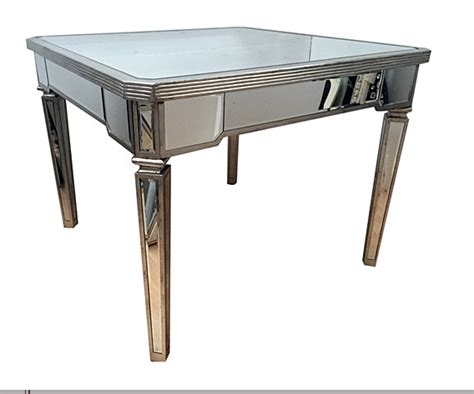 Mirrored Dining Table Vintage Mirrored Dining Table Tables Dining