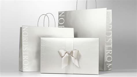 nordstrom gift wrap new bags boxes save tons of waste nordstrom