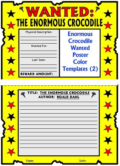 wanted poster book report book 1 sheet a adjectives book 2 sheets a is for alligator