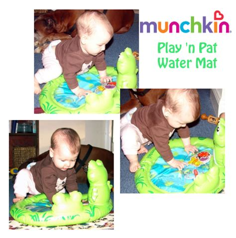 Water Pat Mat For Babies by Play N Pat Water Mat From Munchkin