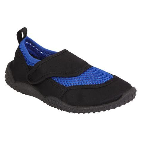 athletech boy s aqua3 aqua sock blue shoes baby