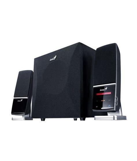 Speaker Laptop Genius buy genius sw t 2 1 speaker at best price in india snapdeal