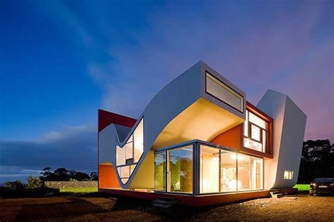 creative house design concrete
