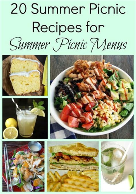20 summer picnic recipes for summer picnic menus allfreecopycatrecipes com