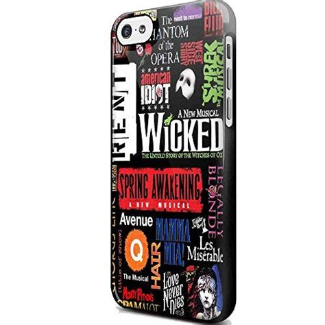 Casing Iphone 7 Plus Broadway Musical Collage Custom broadway musical collage for iphone and samsung galaxy iphone 5 5s black generic http