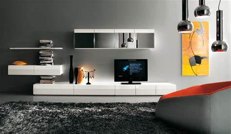 modern contemporary tv wall units modern tv wall units