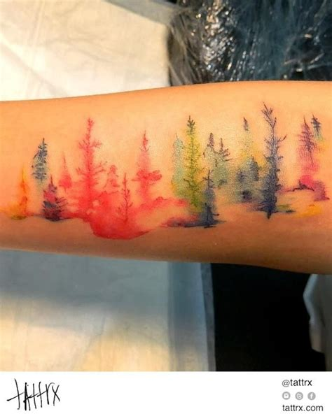 35 artistic watercolor tattoo designs for men