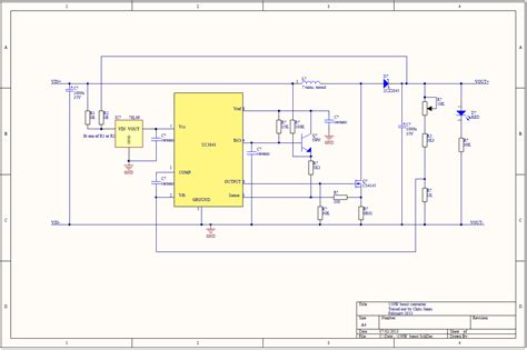 dc dc boost converter circuit diagrams 150w boost converter schematic martinjonestechnology