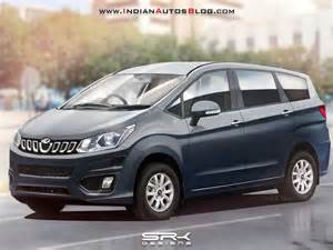 new mpv cars all new mahindra mpv innova crysta rival rendered