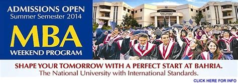Mba Welcome Weekend by Bahria