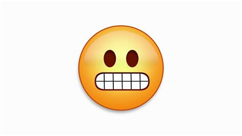 Emoji Eek   eek emoji emoticon animated loops easy integration to any