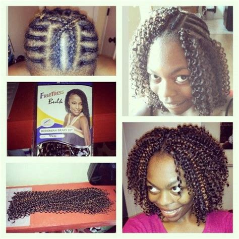 crochet braid hairstyle with middle part 184 best images about hair on pinterest freetress