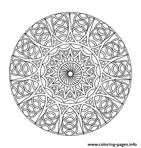 mandala coloring pages complicated free mandala difficult to print 8 coloring pages