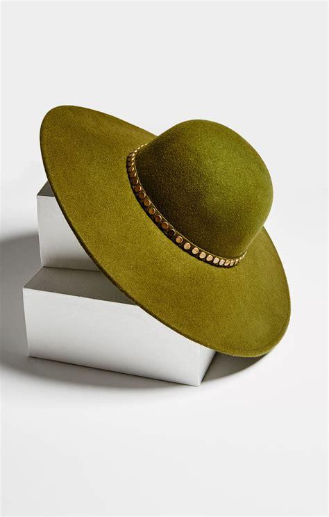 Studded Hat studded floppy hat