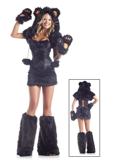 black costume 8 pc deluxe black costume