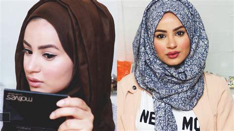 tutorial hijab makeup tutorial makeup simple hijab saubhaya makeup