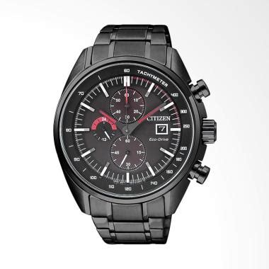 jual citizen eco drive chronograph tachymeter stainless
