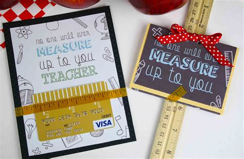 Easy Gift Cards - free printable teacher appreciation gift card measures up gcg