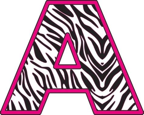 printable vinyl letters 38 best images about zebra print for classroom on