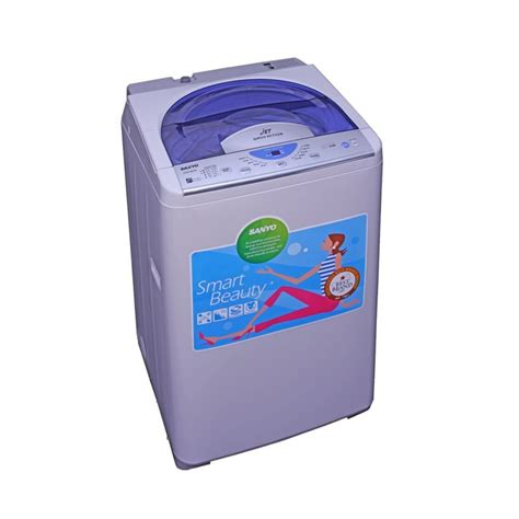 harga sanyo asw86sb mesin cuci 1 tabung 8 5 kg sejuk elektronik