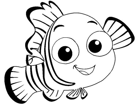 Coloring Pages Fish Nemo by Nemo Fish Coloring Pages