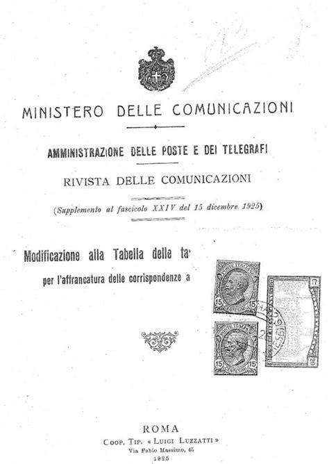 porto affrancato storia postale italiana