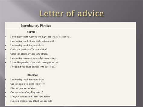 Closing Letter Phrases Formal Writing Letters Ppt