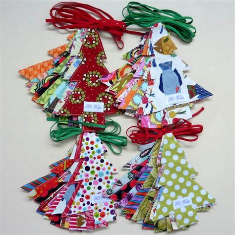 fabric crafts decorations best 25 fabric trees ideas on
